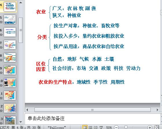 中国农业培训课程(ppt 30页)