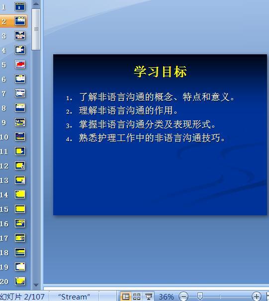 非语言沟通培训教材(PPT 107页)
