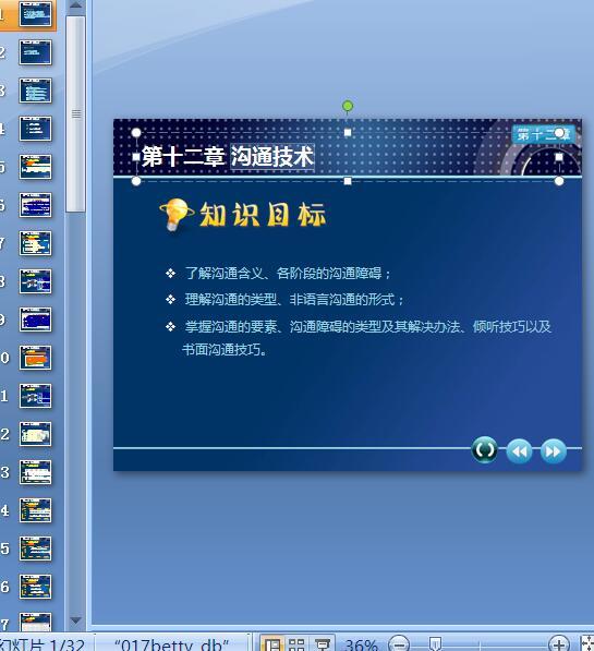 沟通技术培训课件(PPT 32页)