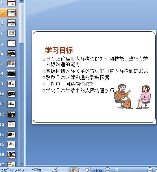 人际沟通在日常生活中的应用教材(PPT 42页)